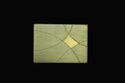 mixte abstrait : Arc d'or