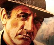 """tableau : Lino VENTURA """"Le Rapace"""""""