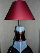 """artisanat dart autres porcelaine lourdes decoration luminaire : Lampe""""Bustier"""""""