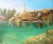 tableau paysages lac vins paysage anna maillard : LACS DE VINS