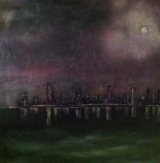 tableau manhattan darkness : End of Manhattan