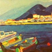 tableau port ajaccio corse : port d'Ajaccio