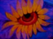 art numerique fleurs fleurs desert trucage synthetiseur d image : Fleur des  pays chauds
