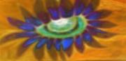 art numerique fleurs fleur du desert synthetiseur d image chaleur fleur lassive : fleur s evanouissant