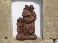 la mère et ses trois enfants