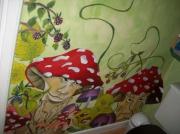 deco design scene de genre deco d interieu peinture personnalis feerie imaginaire : mes toilettes 2