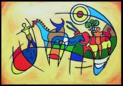 painting : Graphiques paléolithiques.(Tassili)
