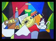 painting : El Kaada
