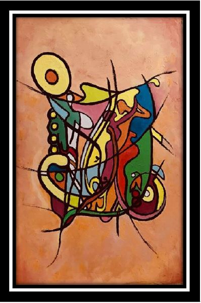 TABLEAU PEINTURE Peinture a l'huile  - La danse classique