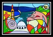 painting : Vue d'Oran