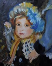 La fillette de Renoir