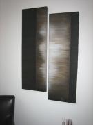 tableau abstrait : Silhouette