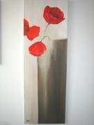 tableau fleurs : le vase