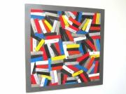 tableau abstrait multicolore abstrait colore : Colors