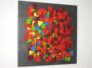 tableau abstrait : dominos