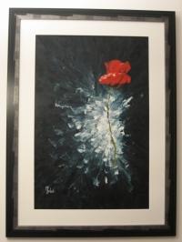 la fleur coupée