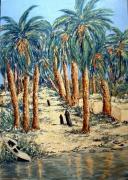 tableau egypte nil voyage : Au fil du Nil (2)
