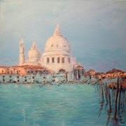 tableau paysages venise grand canal eau : Venise