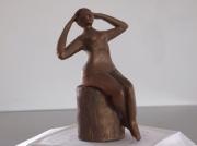 sculpture nus femme nue reflexion : Réflexion féminine