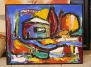 tableau : la petite maison