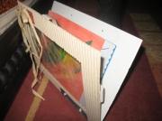 deco design autres cadre ouvert carton bruge pascal : Détail de mes cadres en carton