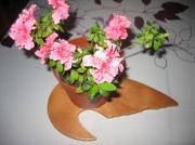 deco design autres dessous pot fe fleur bois au choix design : Dessous de pot de fleur Modèle N°2