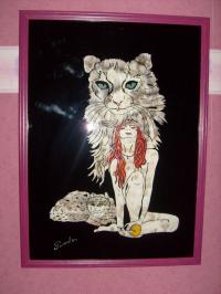 le chat femme