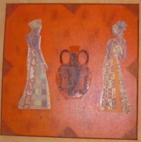 les deux femmes africaine