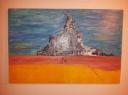 tableau paysages mont michel bretagne : Mont st Michel