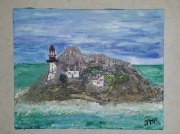 tableau paysages bretagne ile houet : Ile Bretonne