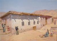 Maison berbère dans l'Atlas