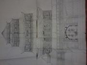 dessin architecture : temple du dragon
