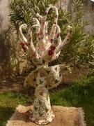 sculpture autres arbre fantastique oiseaux fleurs : arbre de vie