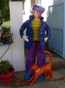 sculpture personnages personnage sculpture grillage papier : Martin,le petit marin