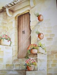Façade ancienne porte Provençale