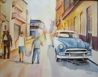 Tâche d'huile Cuba
