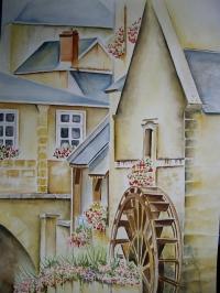 Bayeux la rivière l'Aure