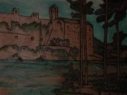 bois marqueterie villes touristique : l'abbaye