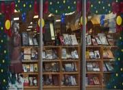 artisanat dart scene de genre noel sapin vitrine decoration : sapins de Noël