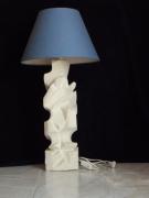sculpture abstrait abstrait lampe : lampe