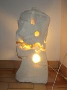 deco design abstrait : lampe