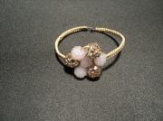 bijoux fleurs bracelet shamballa ,m : Bracelet Macramé Fleur