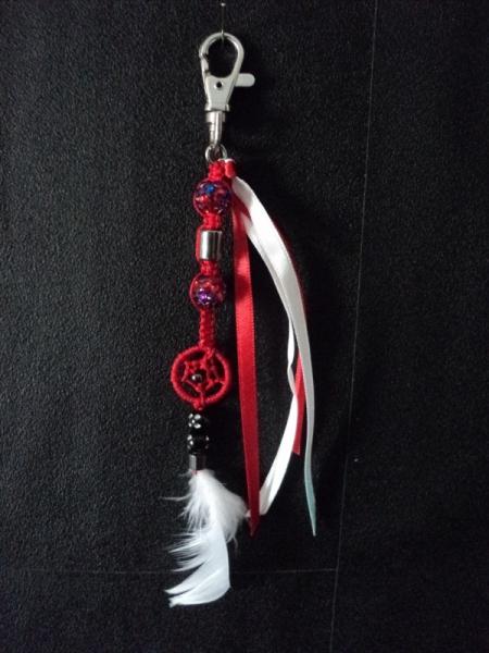 BIJOUX Bijoux de sac Dream   - Bijoux de sac Dream rouge & blanc