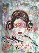 tableau autres starwars carriefischer artcontemporain art : Aiko Masako vendu