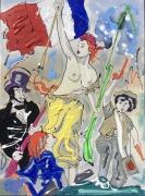 tableau scene de genre histoire revolution liberte eugene delacroix : Ma liberté vendu