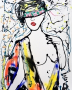 tableau nus femme nudite couleurs liberte : Koshoku vendu