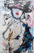 tableau nus geisha femme nue seins : Shinbi vendu