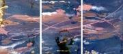 tableau abstrait tableau moderne effet vitre design : LIBERTE