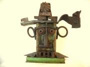 sculpture personnages sculpture metal troll artbrut art singulier : TROLL