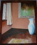 tableau autres lumiere ombre fenetre vase : ombre et lumière